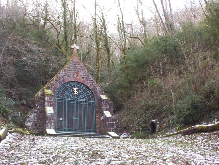 Chapelle de Sainte Tarcisse, vue de l'extérieur