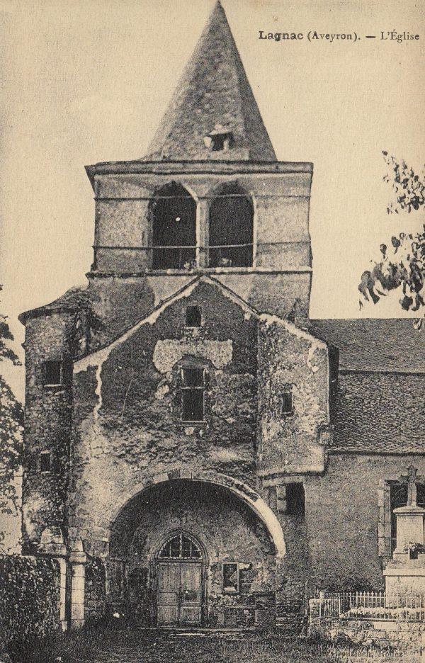 Archive de l'eglise de Lagnac